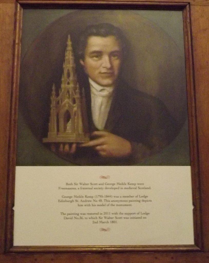 George Kemp The Scott Monument